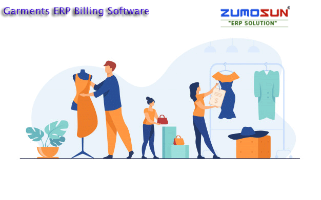Garments ERP software maintain Inventory stock with color size and Article wise